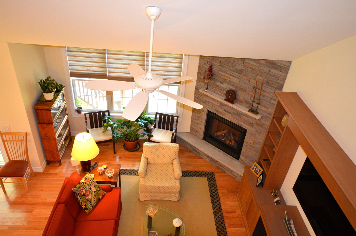 Great-Room From Above