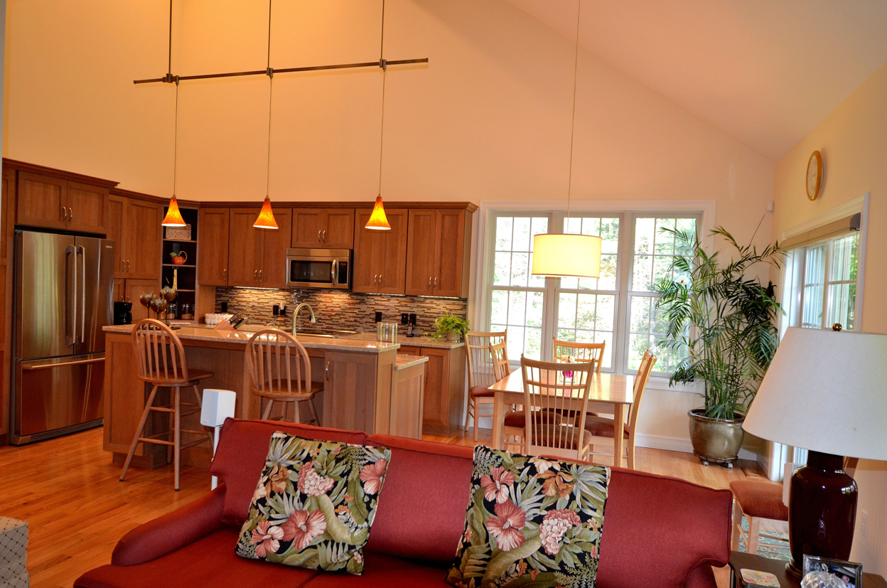 Great-Room and Kitchen and Dining area