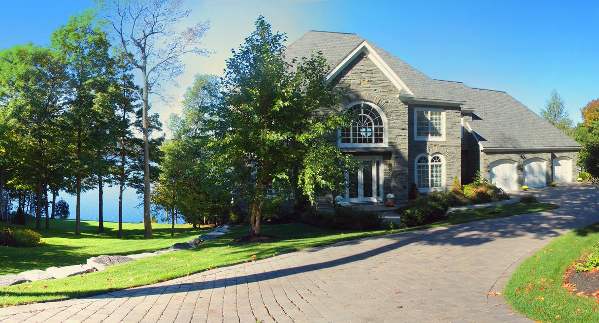 Beautiful custom home by the lake