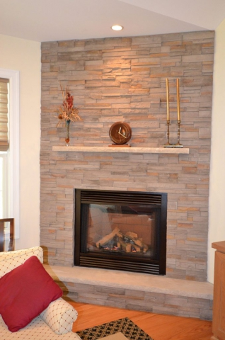 Great-Room Fireplace